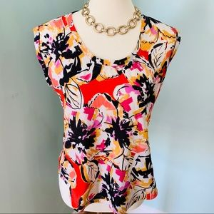2 for $15 🏖 J. Crew Factory Floral Print Top